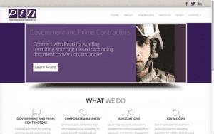 Website Design Screenshot of Pearl Interactive Network