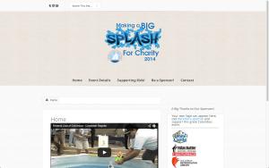Website Design Screenshot of Columbus Corporate Regatta