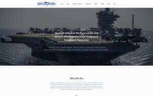 government contractor website design